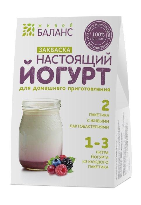 Закваска для йогурта «Живой Баланс»